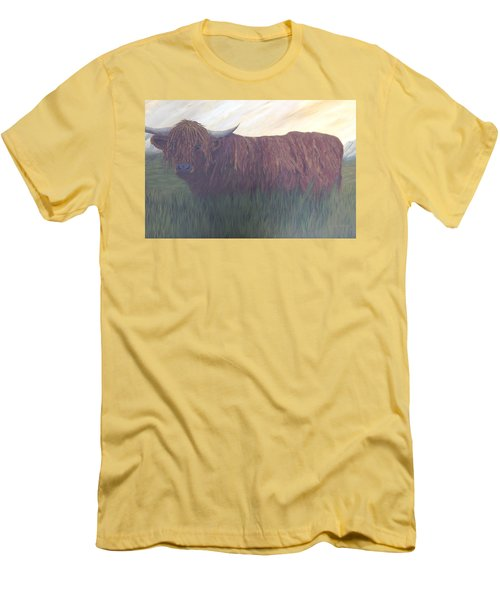Stare Down Men's T-Shirt (Slim Fit) by T Fry-Green