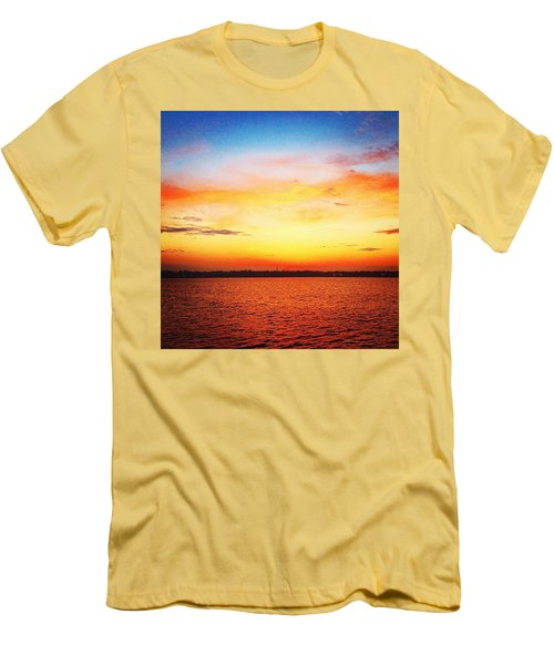 Sunset Serenade  Men's T-Shirt (Athletic Fit)