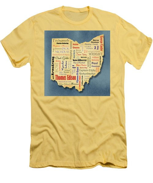 States - Famous Ohio Men's T-Shirt (Athletic Fit)