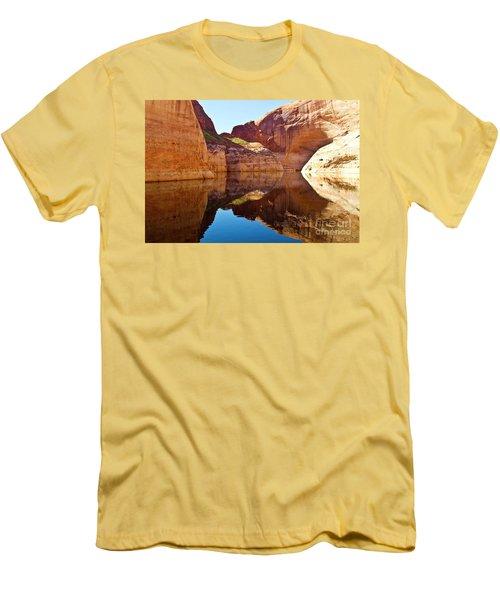 Still Waters Men's T-Shirt (Slim Fit) by Kathy McClure