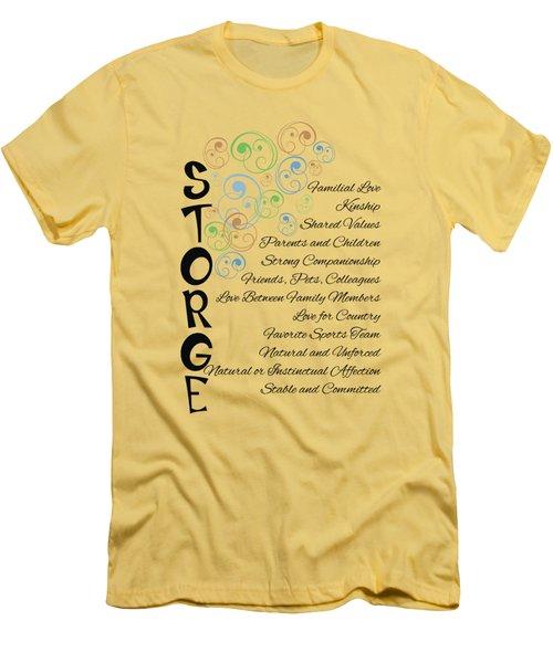 Storge- Familial Love Men's T-Shirt (Athletic Fit)