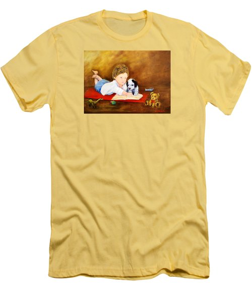 Storybook Time Men's T-Shirt (Athletic Fit)