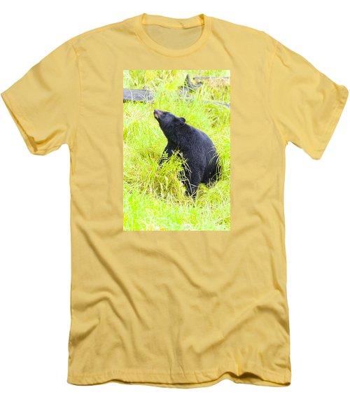 Stretch Men's T-Shirt (Slim Fit) by Harold Piskiel
