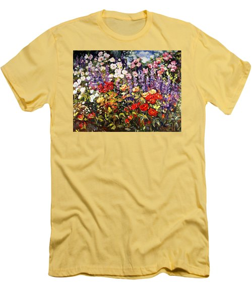 Summer Garden II Men's T-Shirt (Athletic Fit)