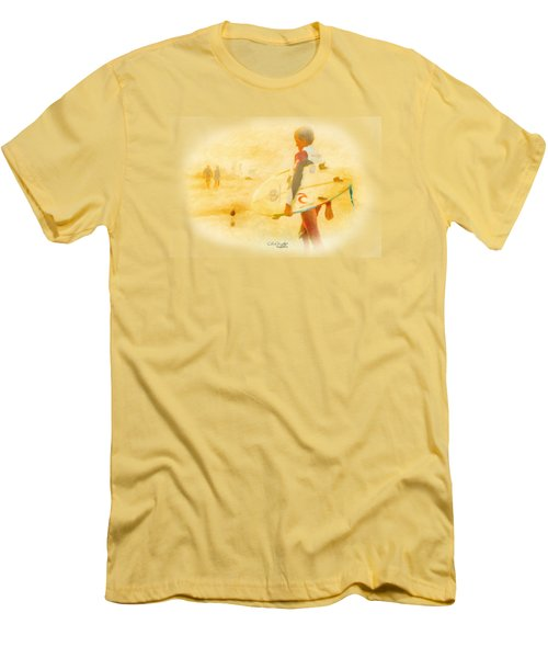 Summer II Men's T-Shirt (Slim Fit) by Chris Armytage
