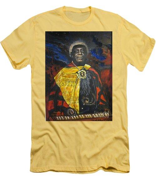 Sun-ra - Jazz Artist Men's T-Shirt (Slim Fit) by Sigrid Tune