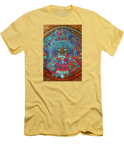 Sun Stone Men's T-Shirt (Slim Fit) by J- J- Espinoza