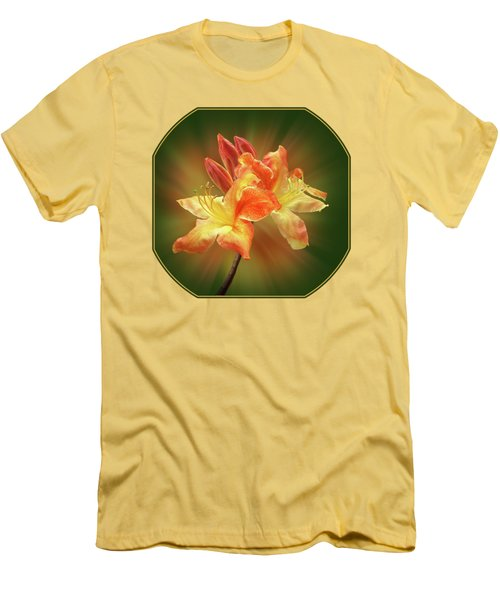 Sunburst Orange Azalea Men's T-Shirt (Athletic Fit)