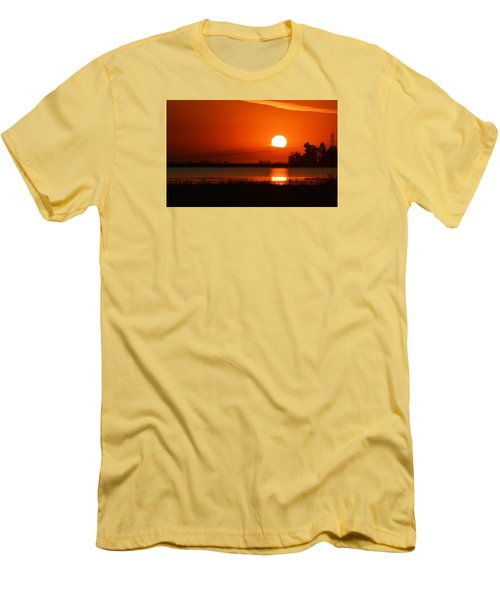 Sundown Men's T-Shirt (Slim Fit) by AJ  Schibig