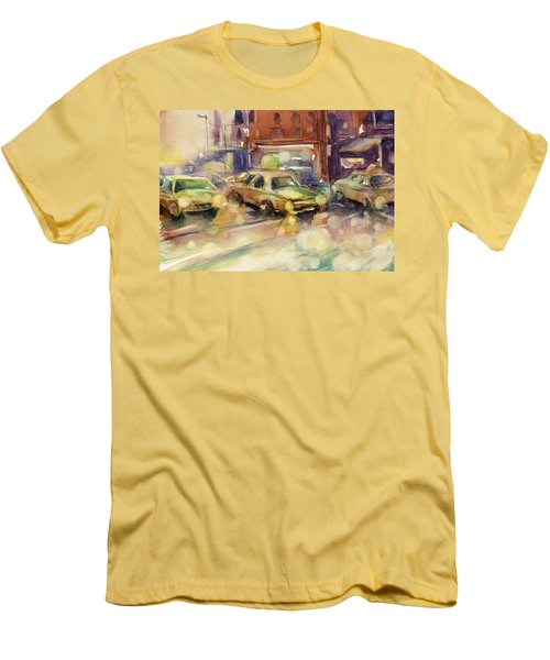 Sundrops Men's T-Shirt (Slim Fit) by Judith Levins