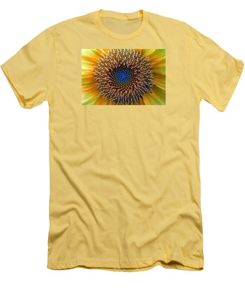 Sunflower Jewels Men's T-Shirt (Slim Fit) by Suzanne Stout