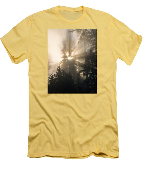 Sunlight And Fog Men's T-Shirt (Athletic Fit)