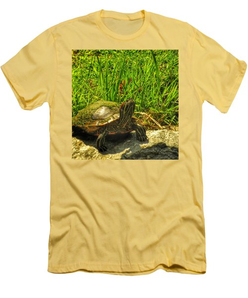 Sunning Men's T-Shirt (Athletic Fit)