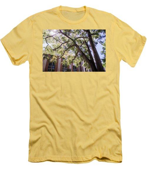 Men's T-Shirt (Slim Fit) featuring the photograph Sunny Days At Uga by Parker Cunningham