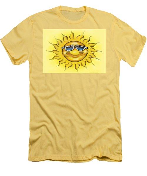 Sunny Men's T-Shirt (Slim Fit) by Kevin Middleton