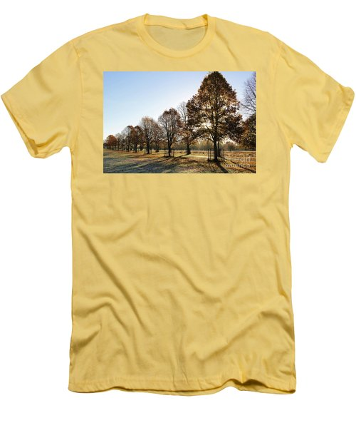 Sunrise And Long Shadows Men's T-Shirt (Athletic Fit)