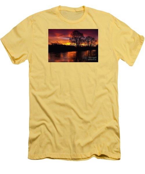 Sunrise II Men's T-Shirt (Slim Fit) by Franziskus Pfleghart