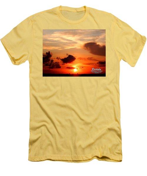 Sunrise In Ammannsville Texas Men's T-Shirt (Athletic Fit)