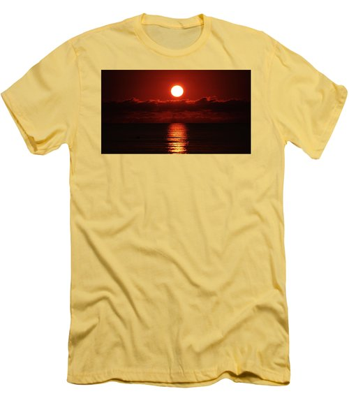 Sunrise Spotlight Delray Beach Florida Men's T-Shirt (Athletic Fit)