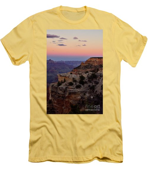 Sunset At The Grand Canyon Men's T-Shirt (Athletic Fit)