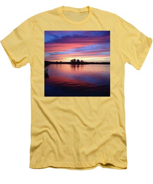 Sunset Dreams Men's T-Shirt (Athletic Fit)