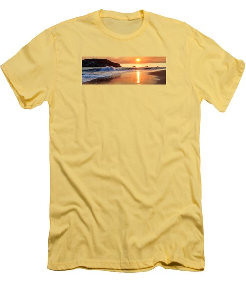 Men's T-Shirt (Athletic Fit) featuring the photograph Sunset In Brookings by James Eddy
