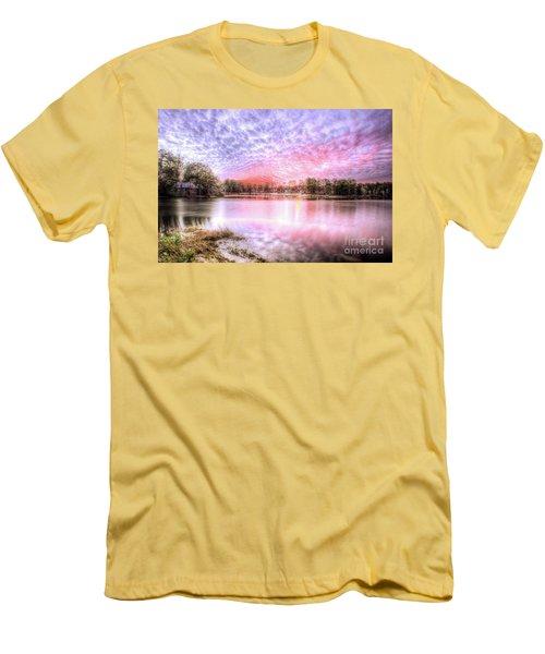 Sunset On Flint Creek Men's T-Shirt (Athletic Fit)