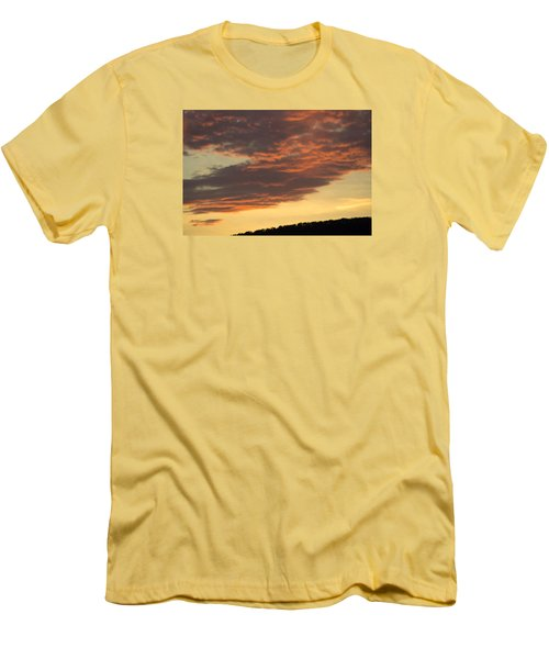 Sunset On Hunton Lane #7 Men's T-Shirt (Athletic Fit)