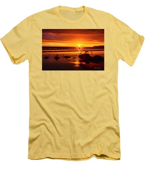 Sunset Surprise Men's T-Shirt (Athletic Fit)