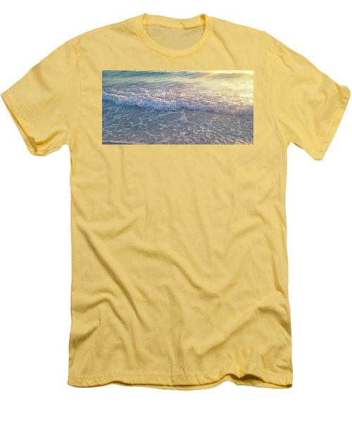 Sunset Tide Men's T-Shirt (Slim Fit) by Ginny Schmidt