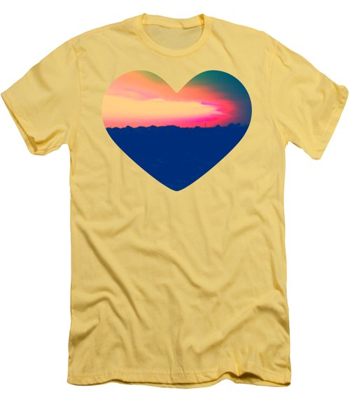 Sunshine In My Heart Men's T-Shirt (Athletic Fit)