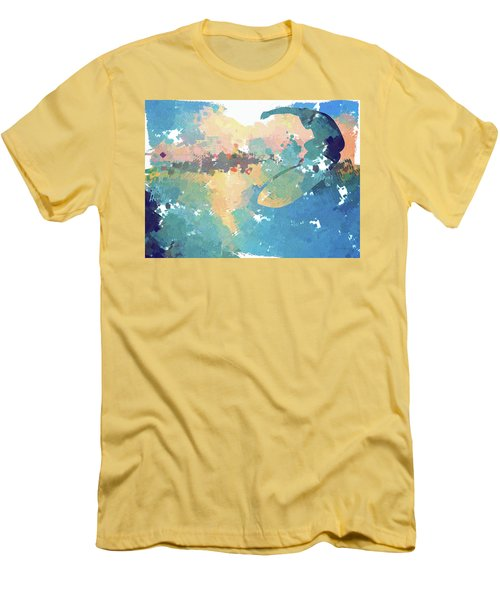 Surfer Men's T-Shirt (Athletic Fit)