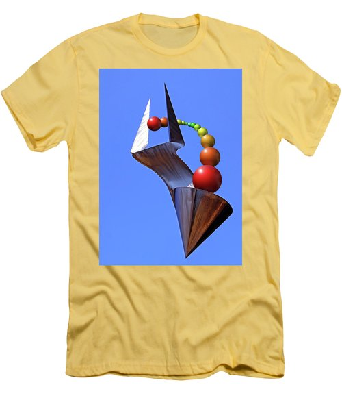 Men's T-Shirt (Slim Fit) featuring the photograph Surreal Rainbow by Christopher McKenzie