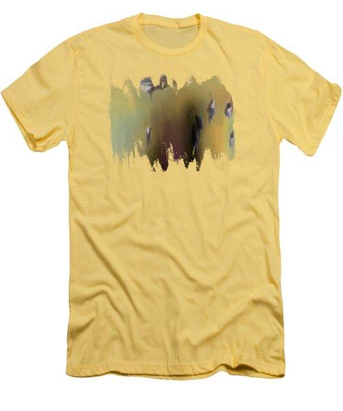 Surreal Turkey Tornado Men's T-Shirt (Athletic Fit)