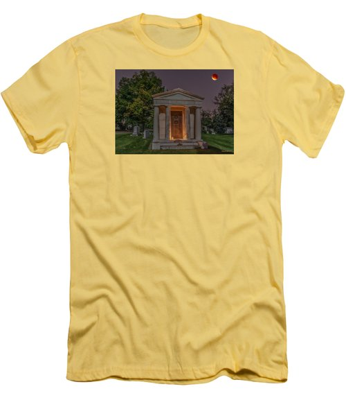 Swallow Mausoleum Under The Blood Moon Men's T-Shirt (Slim Fit) by Stephen  Johnson