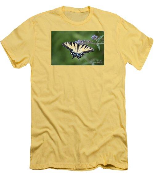 Swallowtail 20120723_24a Men's T-Shirt (Slim Fit) by Tina Hopkins