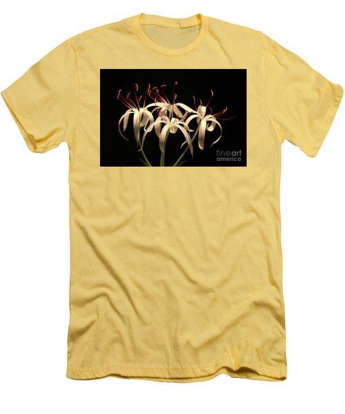 Swamp Lily Men's T-Shirt (Slim Fit) by Meg Rousher