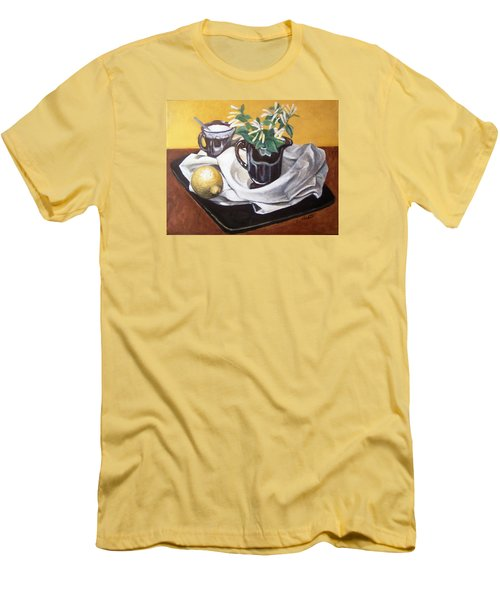 Sweet And Sour Men's T-Shirt (Slim Fit) by Laura Aceto