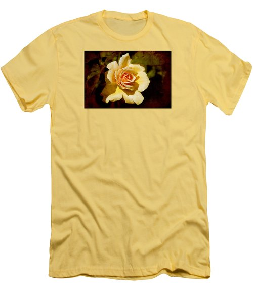 Sweet Rose Men's T-Shirt (Slim Fit) by Milena Ilieva