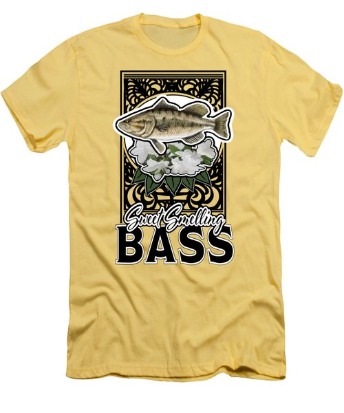 Sweet Smellin Bass Men's T-Shirt (Athletic Fit)