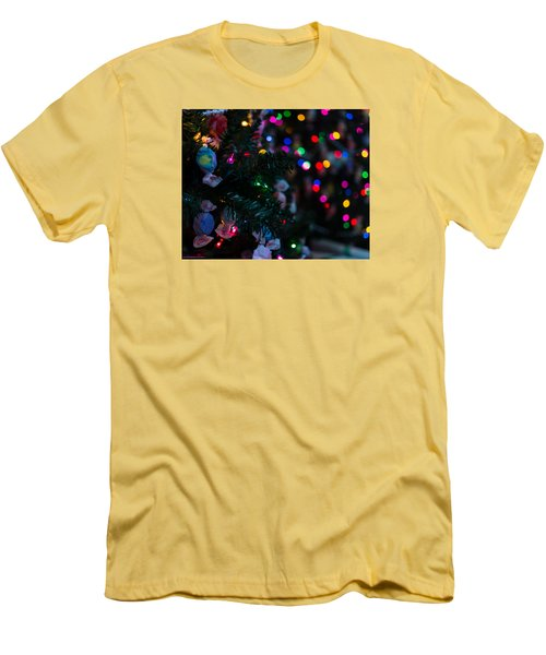Sweet Sparkly Men's T-Shirt (Slim Fit) by Lora Lee Chapman