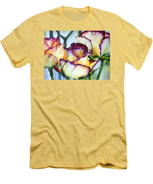 Sweetheart Roses Men's T-Shirt (Athletic Fit)