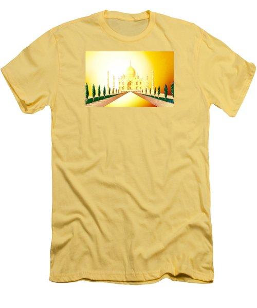 Taj  Mahal Men's T-Shirt (Slim Fit) by Hartmut Jager