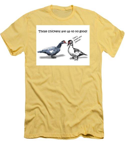 Take A Breath Mint Men's T-Shirt (Athletic Fit)