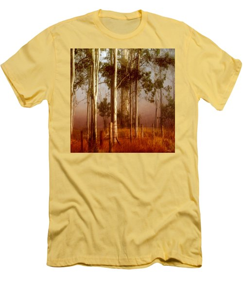 Tall Timbers Men's T-Shirt (Slim Fit) by Holly Kempe