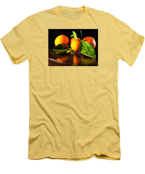 Tangerines Men's T-Shirt (Athletic Fit)