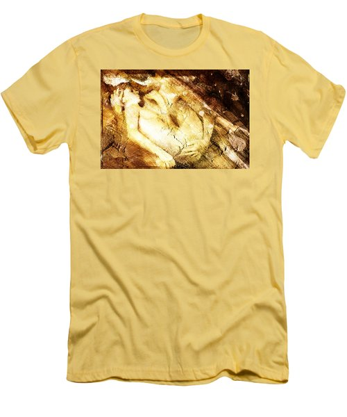 Tangle Of Naked Bodies Men's T-Shirt (Slim Fit) by Andrea Barbieri