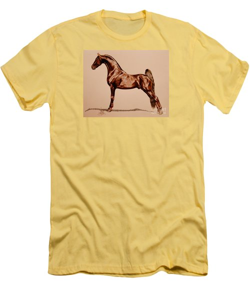 Tangos Daylight - Saddlebred Stallion Men's T-Shirt (Athletic Fit)