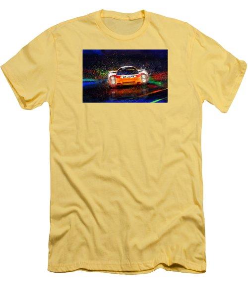 Targa Tempest Men's T-Shirt (Slim Fit) by Alan Greene