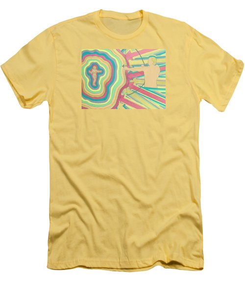 Target Men's T-Shirt (Slim Fit) by Erika Chamberlin